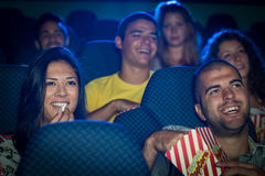 People in Cinema Stock Photography