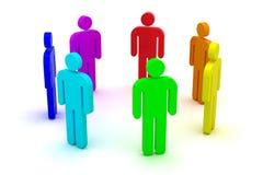 People circle Stock Image