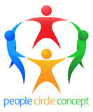 People Circle Team Concept Stock Photos
