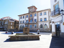 People city hall - Muros - Spain Stock Photography