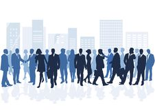 People in city Royalty Free Stock Images