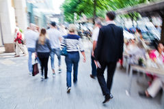People in the city Stock Photography