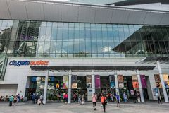 People CityGate Outlet shopping mall Tung Chung Stock Photos