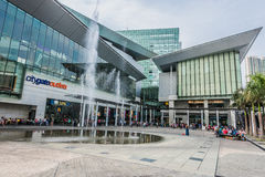 People CityGate Outlet shopping mall Tung Chung Wan Lantau islan Stock Photo