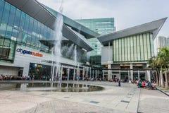 People CityGate Outlet shopping mall Tung Chung Wan Lantau islan Stock Photo