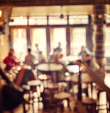 People in Coffee shop blur background Stock Photography