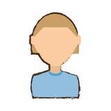 people commoner man icon image Royalty Free Stock Photos