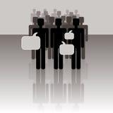 People- communication royalty free illustration