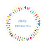 People communication background Royalty Free Stock Images