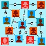 People communication Stock Image