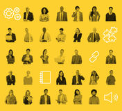 People Community Technology Connection Networking Concept Stock Photography
