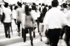 People commuting in Hong Kong Royalty Free Stock Image