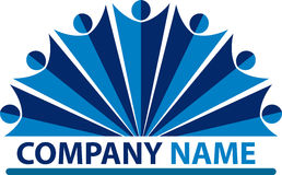 People company logo Royalty Free Stock Image