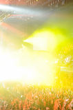 People in concert Stock Photography