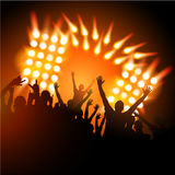 People at a Concert Royalty Free Stock Photo