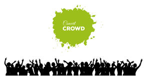 People concert crowd Stock Image