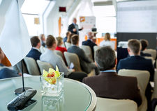 People at the conference Royalty Free Stock Image