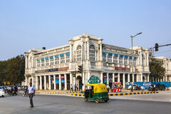 People at Connaught Place Stock Images