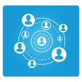 People connecction Royalty Free Stock Images