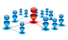 People connection Royalty Free Stock Photo