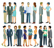 People in conversation Royalty Free Stock Photo