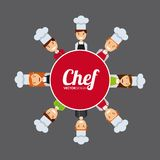 People cooking design. Vector illustration eps10 graphic Stock Photo