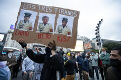 People on Coronavirus days in Buenos Aires