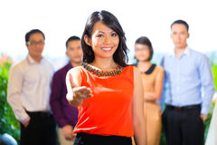 People of creative agency or advertising agency Royalty Free Stock Photos