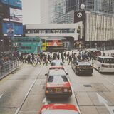 People Crossing in Pedestrian Lane in City during Daytime Royalty Free Stock Photography