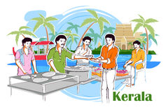 People and Culture of Kerala, India Royalty Free Stock Images