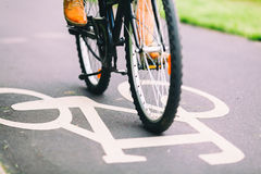 People Cycling Bike Commuting Royalty Free Stock Images
