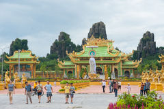 People in Dainam park, Hochiminh, Vietnam Royalty Free Stock Images