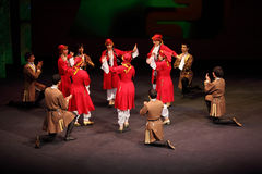 People dance at concert of Gennady Ledyakh School Stock Photos