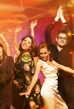 People dancing. In the night club Stock Images