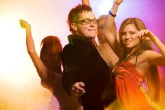 People dancing Royalty Free Stock Images