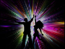 People dancing Royalty Free Stock Photography