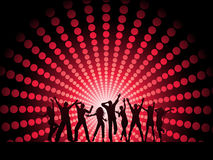 People dancing stock illustration