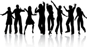 People dancing Stock Images