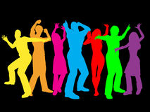People dancing Stock Image