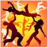 People dancing Stock Photography