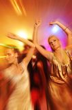 People dancing in the night club. Picture of a People dancing in the night club Royalty Free Stock Photography