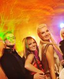 People dancing in the night club. Picture of a People dancing in the night club Stock Images