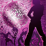 People dancing in night-club Royalty Free Stock Photography