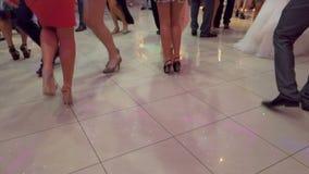 People Dancing 04 stock video