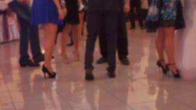 People Dancing stock video footage