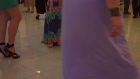 People Dancing stock footage