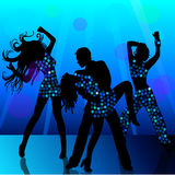 People dancing in nightclub Stock Photography