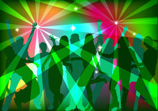 People dancing at a party Stock Image