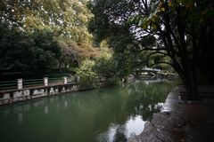People& x27 de Zhengzhou ; parc de s images libres de droits