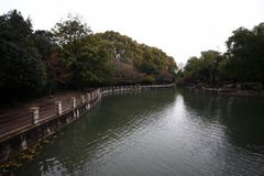 People& x27 de Zhengzhou ; parc de s image stock